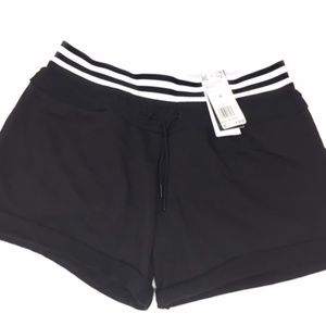 Adidas Women's Athletics Roll-Up Shorts Black Med.